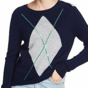 Court & Rowe Ivy League Brompton Argyle Sweater XL